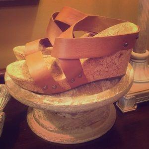 Lucky Brand Wedge heels size 8/38.